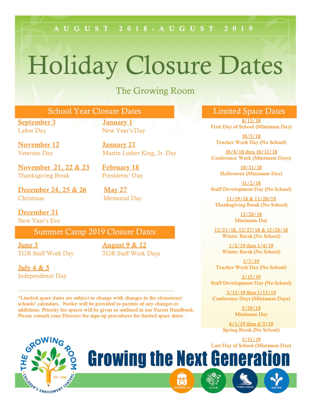 Holiday Closure Dates 2018-2019 .jpg