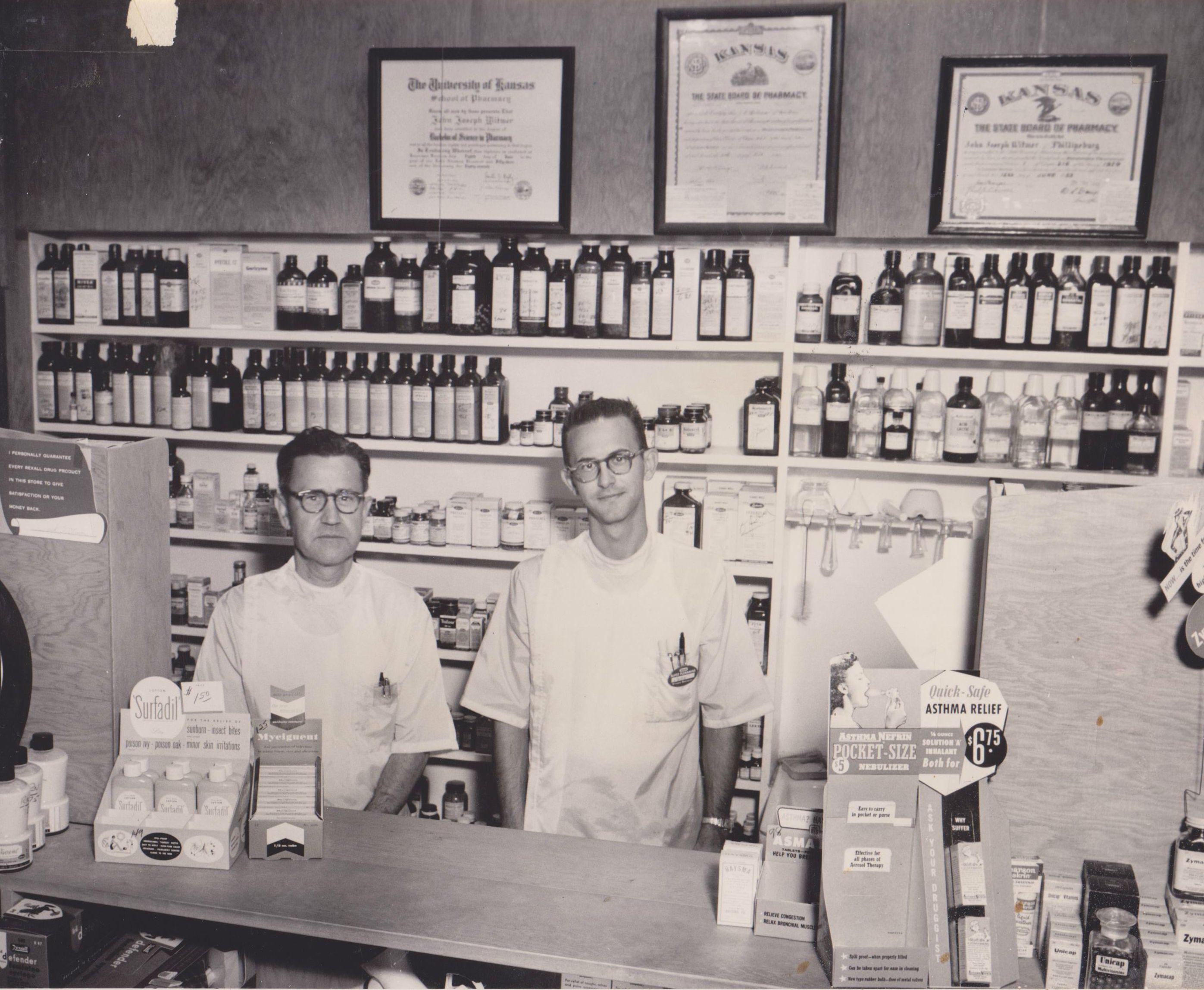 Raymond & Jack Witmer 1956.jpg