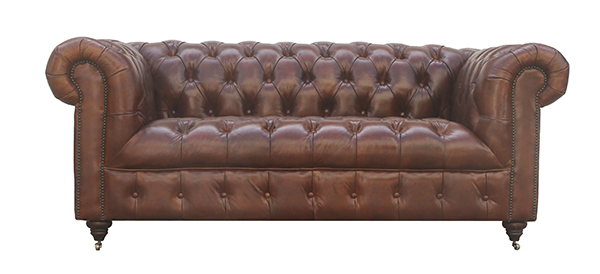 McLaren's Antiques & Interiors - Buttoned Chesterfield