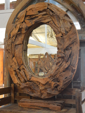 McLaren's Antiques & Interiors - French Mirror