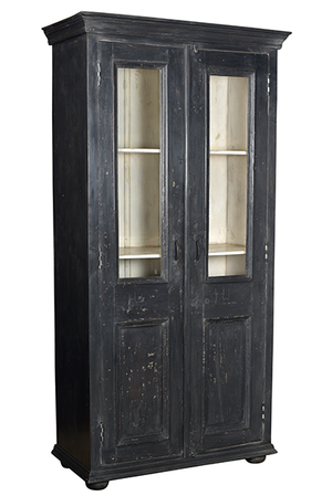 McLaren's Antiques & Interiors - Dark Grey Bookcase