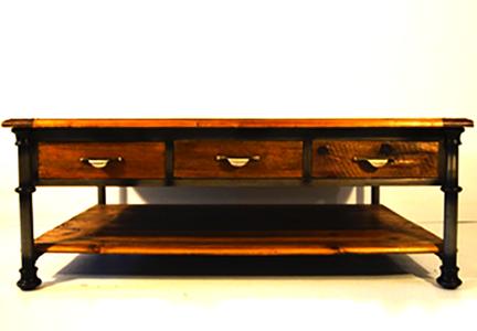 vintage industrial style furniture