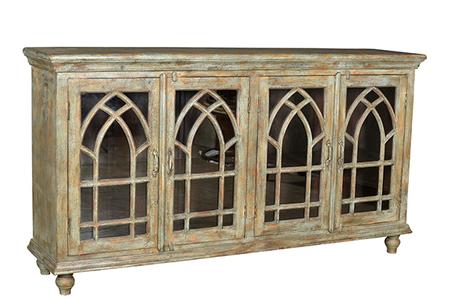 McLaren's Antiques & Interiors - Glass Sideboard