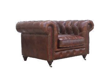McLaren's Antiques & Interiors - Churchhill Chair Brown