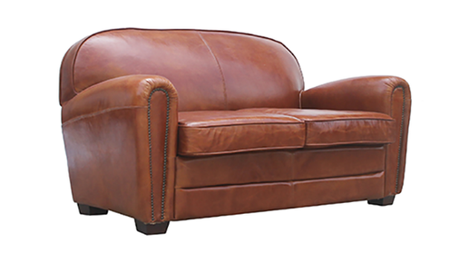McLaren's Antiques & Interiors - Leather Sofa