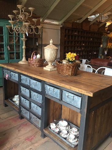 McLaren's Antiques & Interiors - Kitchen Island