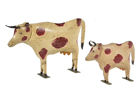 McLaren's Antiques & Interiors - Metal Cow