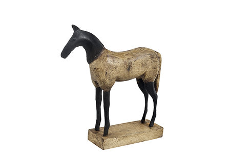McLaren's Antiques & Interiors - Wood Horse