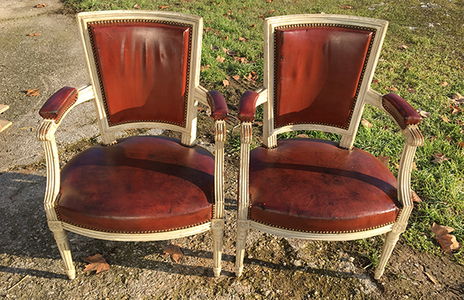 McLaren's Antiques & Interiors - French Painted Chairs
