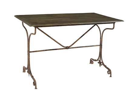 McLaren's Antiques & Interiors - Iron Wood Side Table