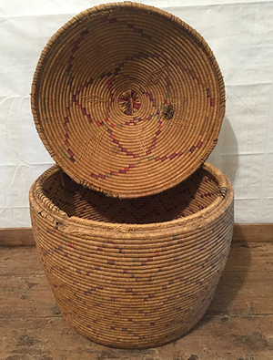 McLaren's Antiques & Interiors - Snake Basket