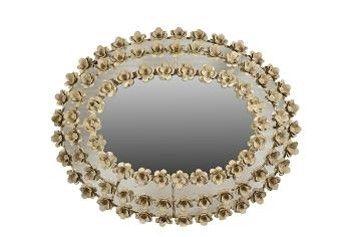 McLaren's Antiques & Interiors - Flower Mirror