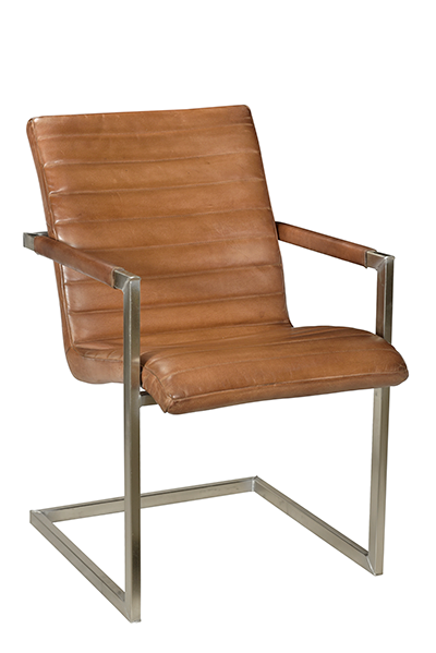 McLaren's Antiques & Interiors - Leather Chair