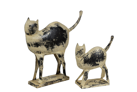 McLaren's Antiques & Interiors - Metal Cat