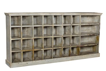 McLaren's Antiques & Interiors - Pigeonhole Shelf