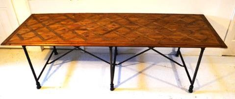 McLaren's Antiques & Interiors - Industrial Pine Table