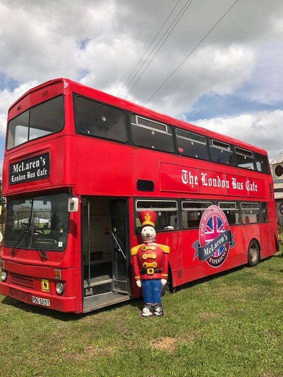 McLaren's Antiques & Interiors - London Bus