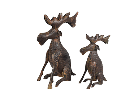 McLaren's Antiques & Interiors - Metal Moose