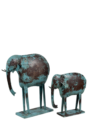 McLaren's Antiques & Interiors - Metal Elephant