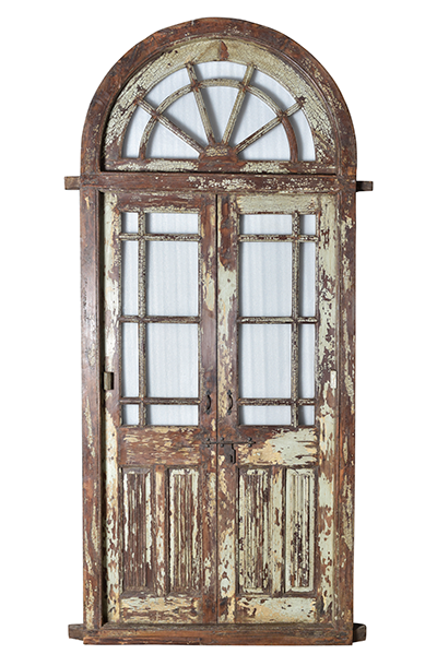McLaren's Antiques & Interiors - Vintage Antique Exterior Door