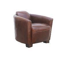 McLaren's Antiques & Interiors - Leather Sofa
