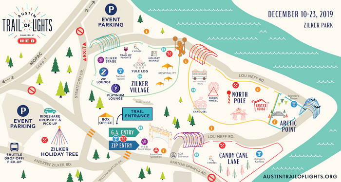 2019 Event Map