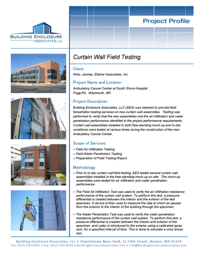 Curtain Wall Testing - South Shore Hospital Project Profile.jpg