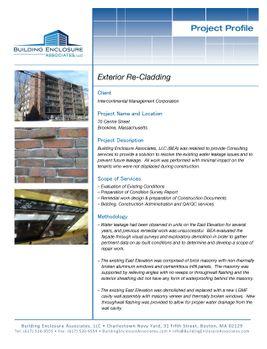 Multifamily Residential - Building Enclosure Associates