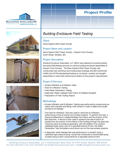 Building Enclosure Testing - New England Wild Flower Society Project Profile.jpg