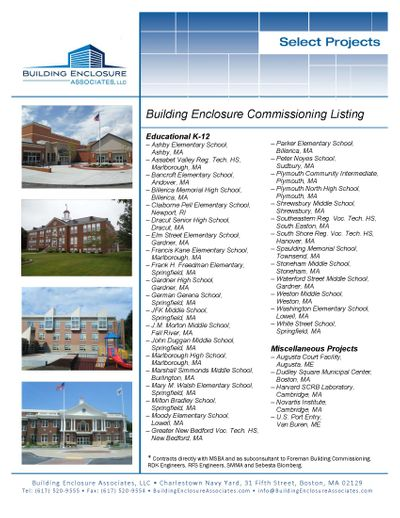 BEA Commissioning List.jpg