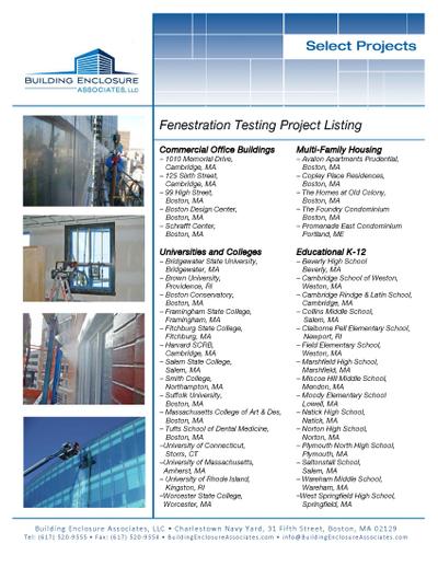 BEA Fenestration Testing List.jpg