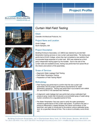 Curtain Wall Testing - Smith College Project Profile.jpg