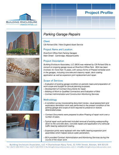 Parking Garage Repairs - Riverfront Office Park.jpg