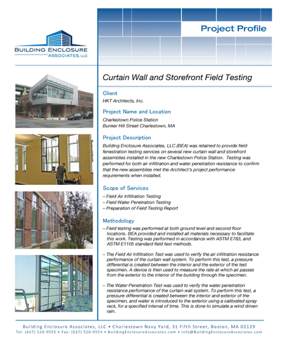 CW and SF Field Testing - Charlestown  Police Station Project Profile.jpg
