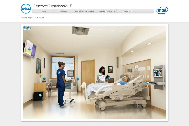 DELL Healthcare IT Patient Room