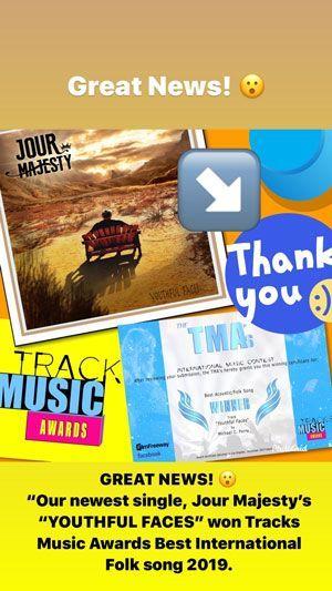 Tracks Music Awards Collage