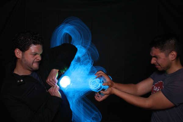 Light Painting Studio Ninjas