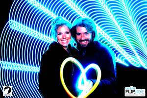 Light Painting Couple