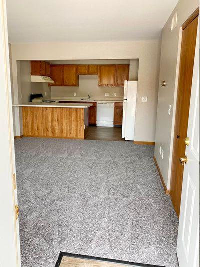Kitchen, Dinette & Living Room