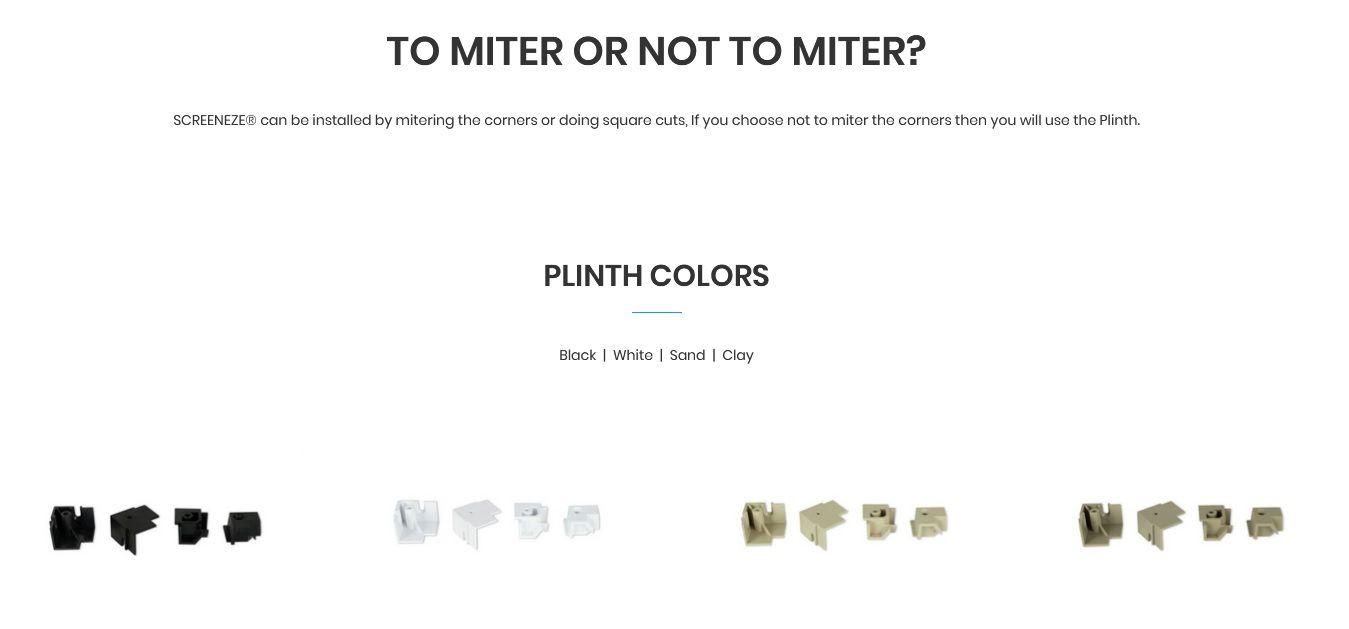 ScreeenEze Plinth Colors.jpg