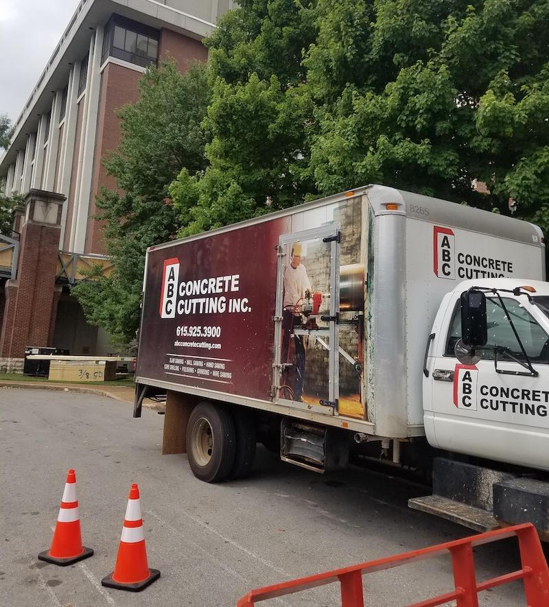 Equipment Truck ABC Concrete