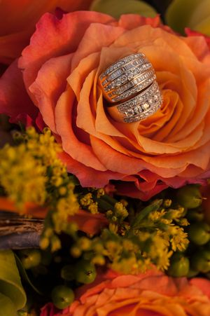 Maui Wedding Rings Detail