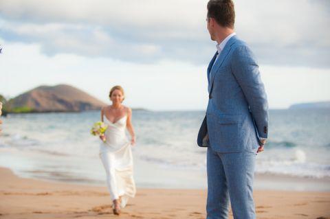 Po'olenalena Beach Wedding Ceremony