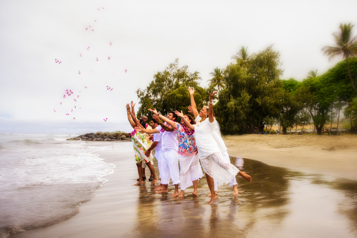 Vow Renewal Celebration in Maui