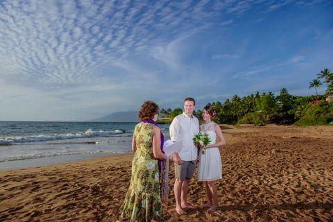 Paipu Beach. Maui Wedding Location