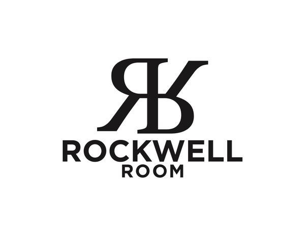 Black White logo Rockwell Room.jpg