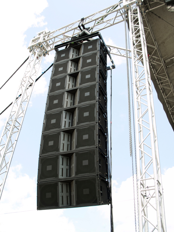 Sound System Rental Large JBL Line Array