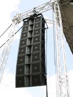 Sound System Rental Large JBL Line Array