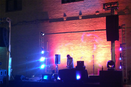 DJ LED Lighting rental