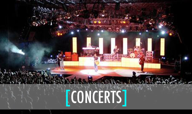 audio visual equipment rental for concerts
